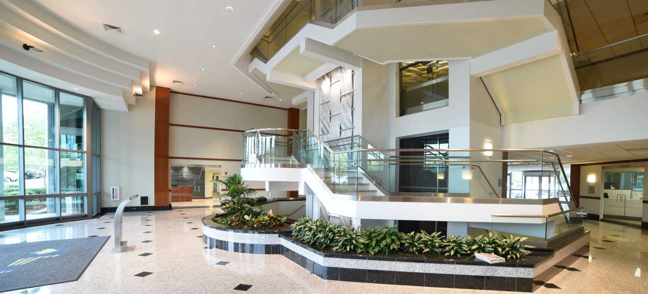 our building lobby - contact us